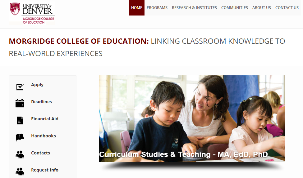 Morgridge College of Education