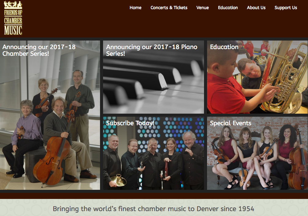 Friends of Chamber Music (Contract) - 2013