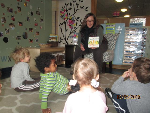 Reading at Fisher