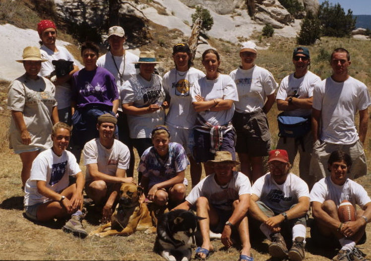 Archaeological Field School, Ramah NM, 1995