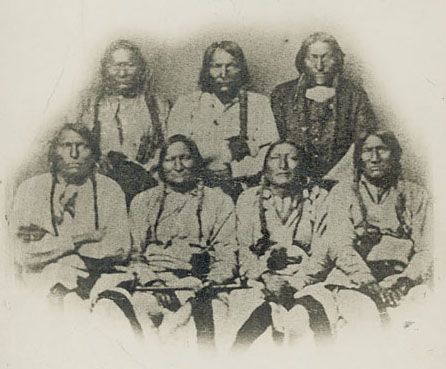 Cheyenne and Arapaho Chiefs, 1864 (Wikipedia)