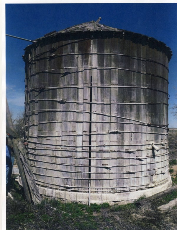 Water tower tank current